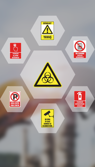 Occupational Safety / Guidance Plates